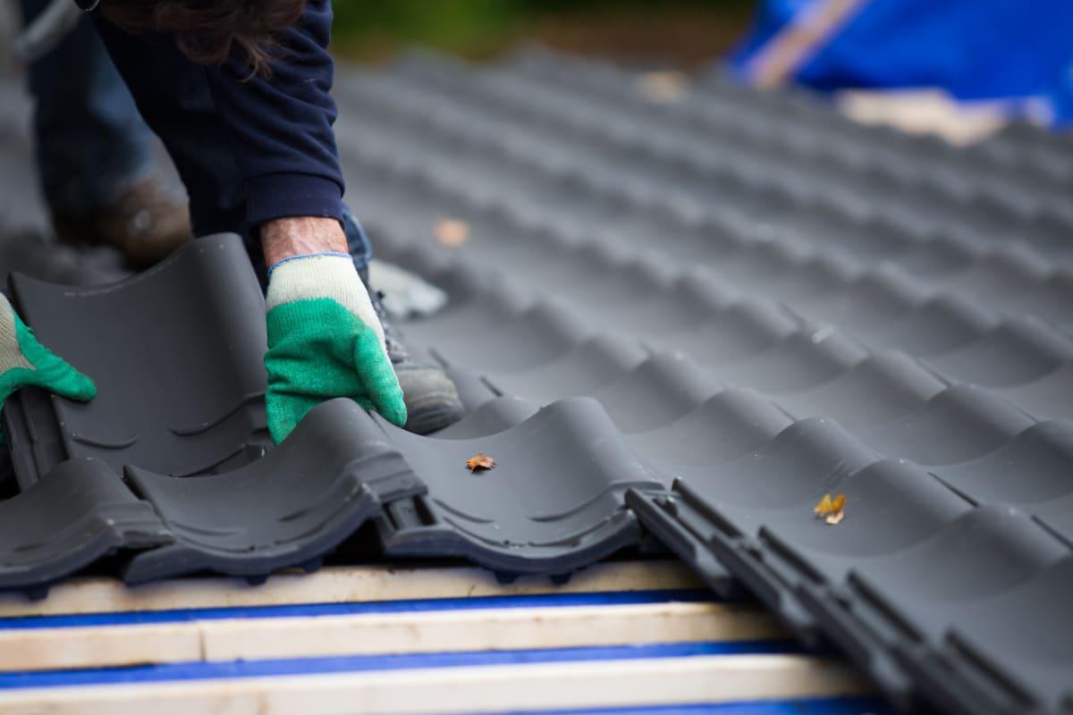 dakbedekking vernieuwen door asbest