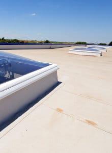plat dak renoveren PVC
