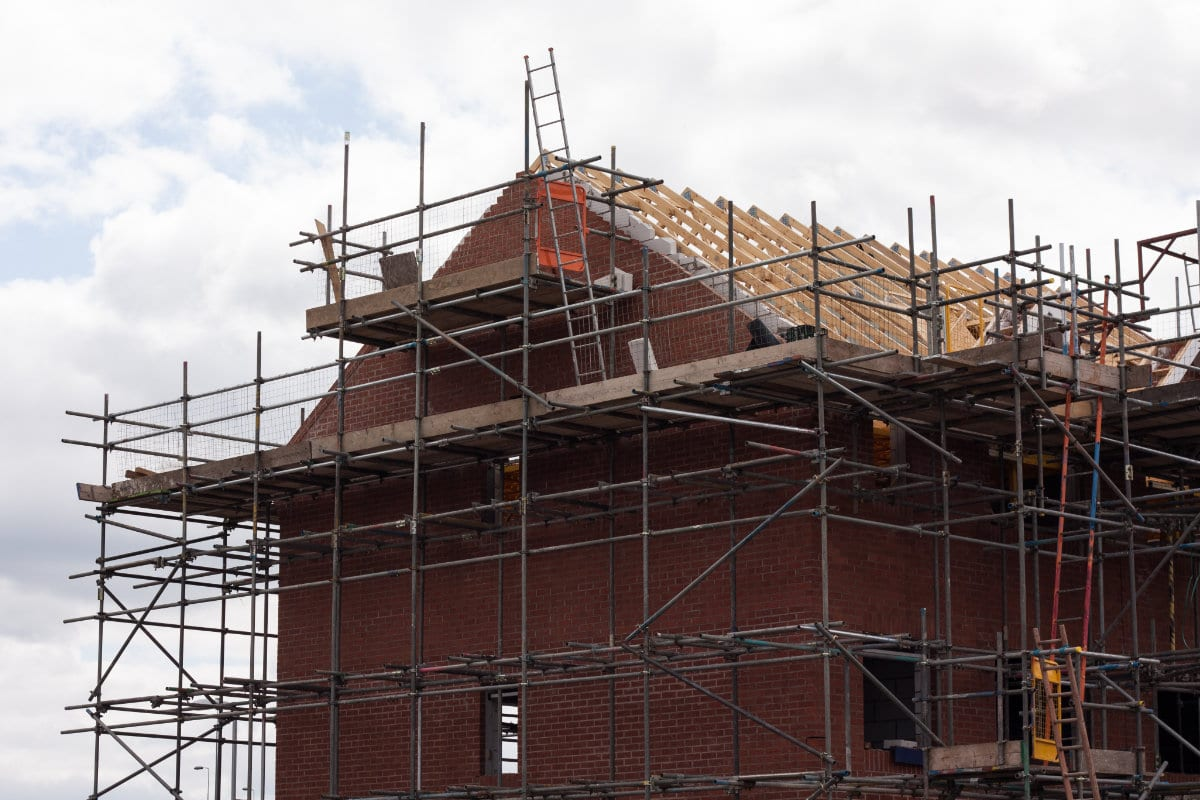 vernieuwing dakconstructie